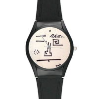 Watch Funk High Quality Black Plastic Watch Model313