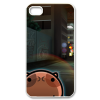 cartoon city life Case for iPhone 4,4S