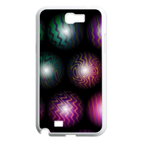 color wave beads Case for Samsung Galaxy Note 2 N7100
