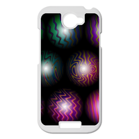 color wave beads Personalized Case for HTC ONE S