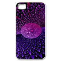 purple stars design Case for iPhone 4,4S