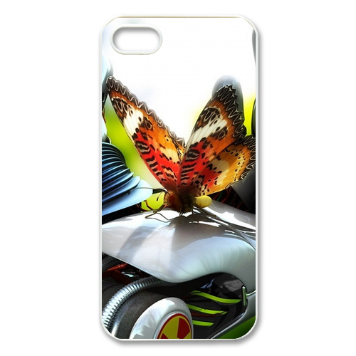 Butterfly on the car Case for Iphone 5