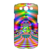 colorful sound wave Case for Samsung Galaxy S3 I9300 (3D)