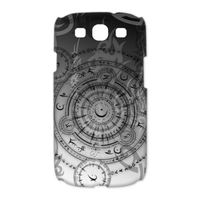 clock the time Case for Samsung Galaxy S3 I9300 (3D)