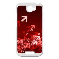 red arrow Personalized Case for HTC ONE S