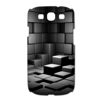 square space Case for Samsung Galaxy S3 I9300 (3D)