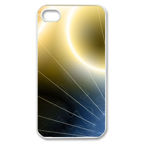 sun glow Case for iPhone 4,4S