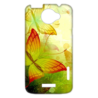 yellow butterflies Case for HTC One X +