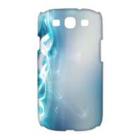 3d blue light Case for Samsung Galaxy S3 I9300 (3D)