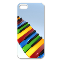 piano keys Case for Iphone 5
