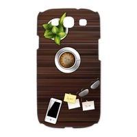 wood home desk Case for Samsung Galaxy S3 I9300 (3D)