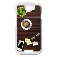 wood home desk Personalized Case for HTC ONE S