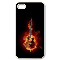 the burning guitar Case for iPhone 4,4S