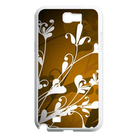 white flowers Case for Samsung Galaxy Note 2 N7100