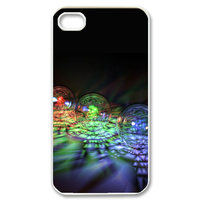 colorful bubbles Case for iPhone 4,4S
