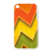 colorful  waves Personalized Cases for the IPhone 3