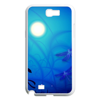 moonlight and dragonfly Case for Samsung Galaxy Note 2 N7100