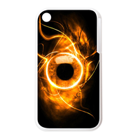 the eye with fire Personalized Cases for the IPhone 3