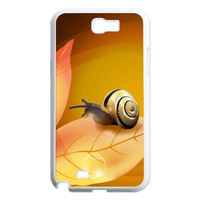 the snail on the leaf Case for Samsung Galaxy Note 2 N7100