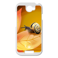 the snail on the leaf Personalized Case for HTC ONE S
