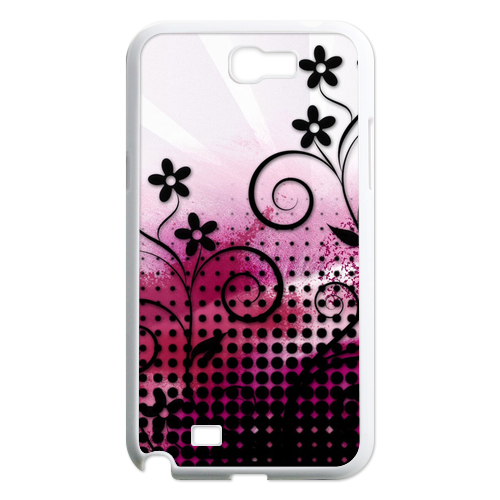small flowers Case for Samsung Galaxy Note 2 N7100