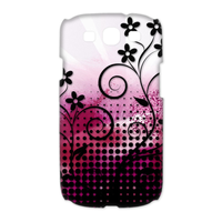 small flowers Case for Samsung Galaxy S3 I9300 (3D)