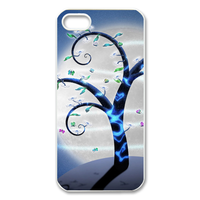 tree under the moodlight Case for Iphone 5