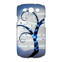 tree under the moodlight Case for Samsung Galaxy S3 I9300 (3D)