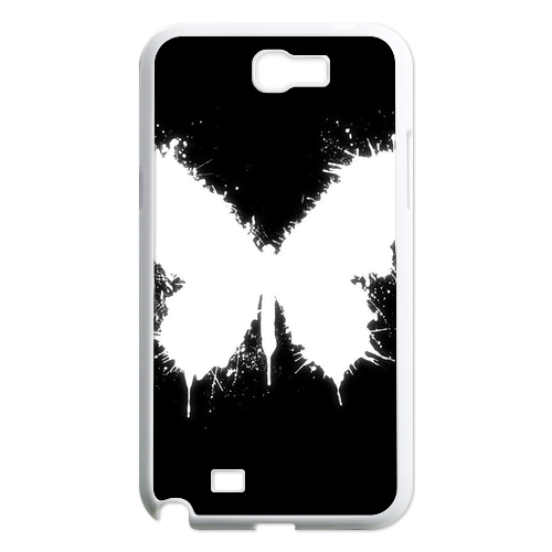 white butterfly Case for Samsung Galaxy Note 2 N7100