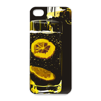 lemon juice Charging Case for Iphone 4