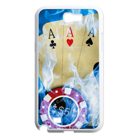 poker AAA Case for Samsung Galaxy Note 2 N7100