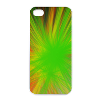green cover Charging Case for Iphone 4