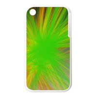 green cover Personalized Cases for the IPhone 3