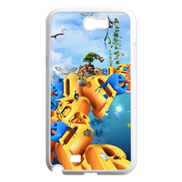 letters garden Case for Samsung Galaxy Note 2 N7100