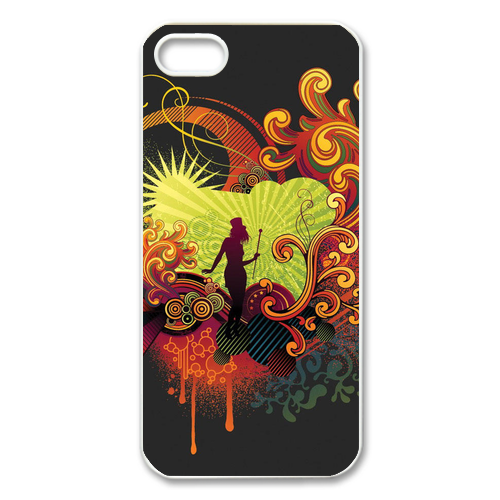 modern lady Case for Iphone 5
