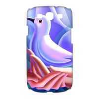 pigeon on the hands Case for Samsung Galaxy S3 I9300 (3D)