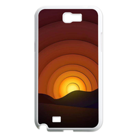 sunset Case for Samsung Galaxy Note 2 N7100