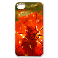 burning umbrella Case for iPhone 4,4S