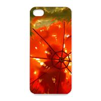 burning umbrella Charging Case for Iphone 4