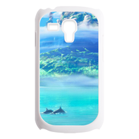 dolphin Custom Cases for Samsung Galaxy SIII mini i8190