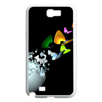 the earth with the butterflies Case for Samsung Galaxy Note 2 N7100