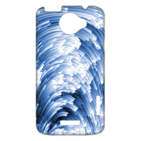 the sea wave Case for HTC One X +