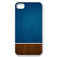 blue wall Case for iPhone 4,4S