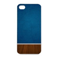 blue wall Charging Case for Iphone 4