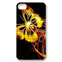 burning butterfly Case for iPhone 4,4S