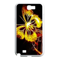 burning butterfly Case for Samsung Galaxy Note 2 N7100