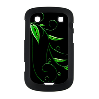 green leaves Case for BlackBerry Bold Touch 9900