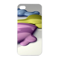 oil color Charging Case for Iphone 4