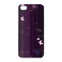 pink butterfly Charging Case for Iphone 4