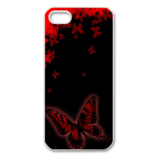 red butterflies Case for Iphone 5